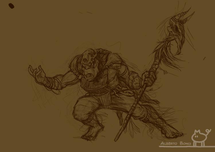 Shaman Orc Wip 1