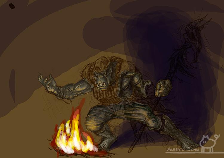 Shaman Orc Wip 4